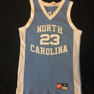 online store 75d50 9082b Jordan Shirts | Nike Michael Unc Jersey Vintage Authentic ...